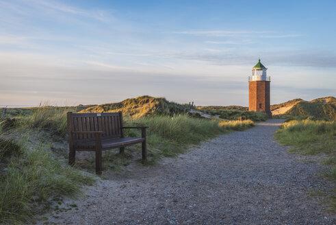 Germany, Sylt, Kampen, view to cross light - KEBF000231
