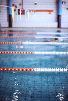 Swimmer in indoor pool - EHF000134