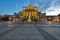 Germany, Berlin, view to Konzerthaus at Gendarmenmarkt - RJF000483