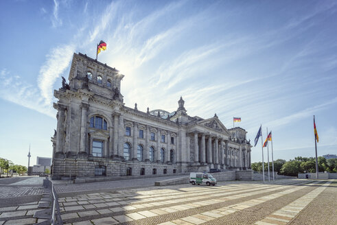 Germany, Berlin, Reichtstag Building - OPF000063