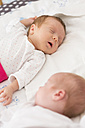 Sleeping newborn twins - SHKF000345