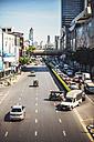Thailand, Bangkok, traffic jam in a main avenue - EH000170