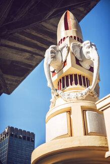 Thailand, Bangkok, Elephant's heads sculpture - EH000207