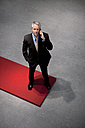 Self-confident businessman on the phone - TOYF001157