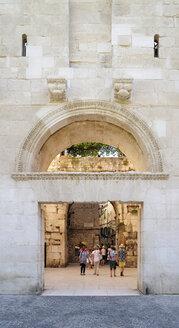 Croatia, Split, North Gate, Golden Gate, Porta Aurea - BT000368