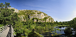 Croatia, Krka National Park, Roski slap, river Krka and nature trail - BTF000377