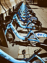 USA, Illinois, Chicago, bicycle hire - DIS002154