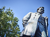 USA, Illinois, Chicago, Lincoln Park, Statue of Abraham Lincoln - DISF002165