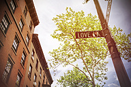 USA, New York City, Brooklyn Heights, Love Lane - ONF000867