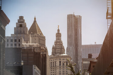 USA, New York City, Empire State Building and Grand Central Station - ONF000903