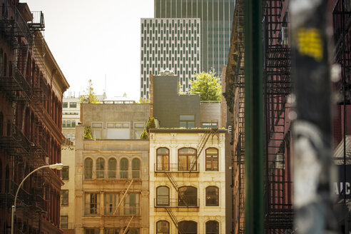 USA, New York City, Buildings in SoHo - ONF000906