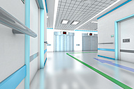 3D rendered illustration, modern hospital - SPCF000063