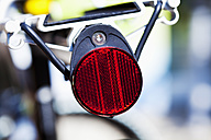 Rear reflector and rack of a mountainbike - CSF026281