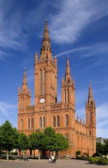 Germany, Hesse, Wiesbaden, Market Church - BTF000394