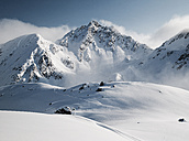 Austria, Tyrol, Ischgl, winter landscape in the mountains - ABF000638