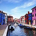 Italiy, Venice, Burano - LVF003808