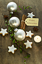 Christmas decoration with cinnamon stars - ODF001300
