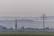 Germany, Lower Saxony, Koenigslutter, View to Lelm with St. Mary's Church - PVCF000671