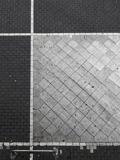 Geometrical pattern of pavement - TLF000741