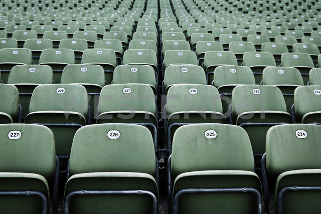 Austria, Bregenz, empty tiers of grand stand of lake stage - TL000742