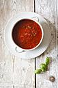 Tomato sauce in bowl - EVGF002212