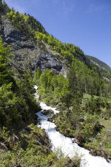 Austria, Salzburg State, Abtenau, Tricklfall waterfall - WWF003856