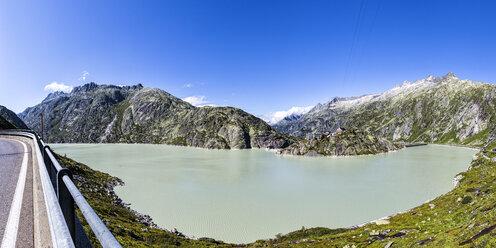 Switzerland, Bernese Oberland, Grimsel Hospiz at Lake  Grimsel - STSF000902