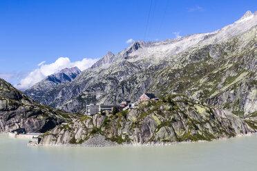 Switzerland, Bernese Oberland, Grimsel Hospiz at Lake  Grimsel - STSF000904