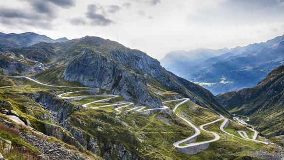 Switzerland, Tessin, Valle Laventina, Gotthard Pass - STSF000907