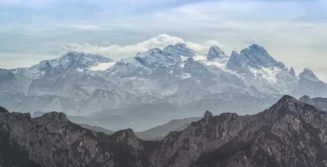 Austria, view from Schafberg to Dachstein - MW000103