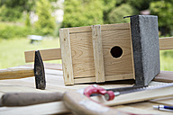 Building up of a birdhouse - RBF003218
