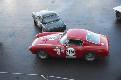 Germany, Nurburgring, Ferrari 250 SWB Competition and Triumph Spitfire - BSC000460