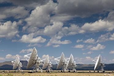 USA, New Mexico, Very Large Array radio astronomy observatory - NNF000244