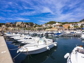 Spain, Mallorca, Port de Soller, harbour - AM004275