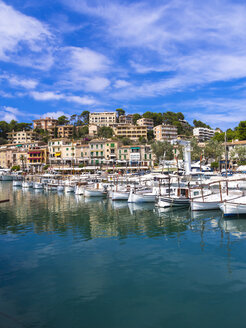 Spain, Mallorca, Port de Soller, harbour - AMF004278