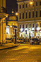 Russia, Saint Petersburg, St. Isaac's Cathedral at night - KNT000088