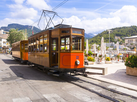 Spain, Mallorca, Ferrocaril de Soller, historical railway between Palma and Soller - AM004294