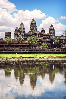 Cambodia, Siem Reap, Angkor Wat Temple - EHF000267