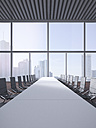 Modern conference room, 3D Rendering - UWF000630