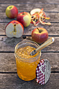Apples and homemade apple jam - SARF002174