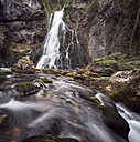 Austria, Salzburg State, View of Golling waterfall - OPF000083