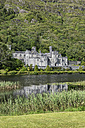 Ireland, County Galway, View of Benedictine Abbey, Kylemore Abbey - EL001620