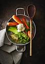 Mirepoix, parsley, carrots, cauliflower, celeriac and leek - KSW001644