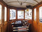 Portugal, Porto, old tramway, interior view - LA001501