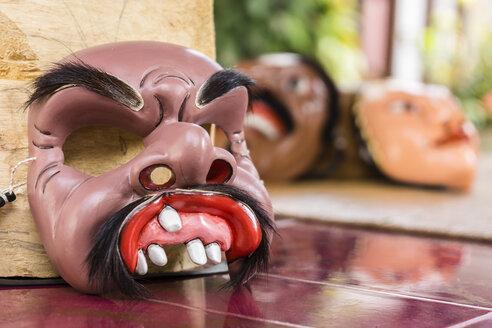 Indonesia, Bali, Ubud, Balinese Barong mask - WE000385