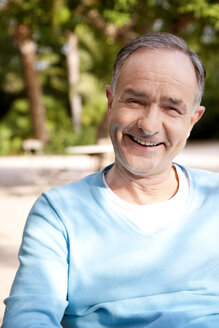 Portrait of smiling mature man - RMAF000082
