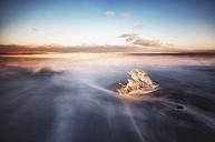 Iceand, Jokulsarlon, mini iceberg - SMAF000379