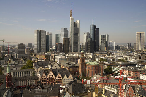 Germany, Frankfurt, cityscape with financial district - PCF000198