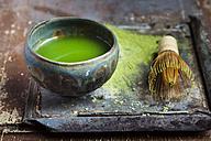 Chawan of matcha tea - SBDF002407