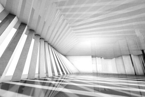 Empty modern interior, 3D Rendering - SPCF000067